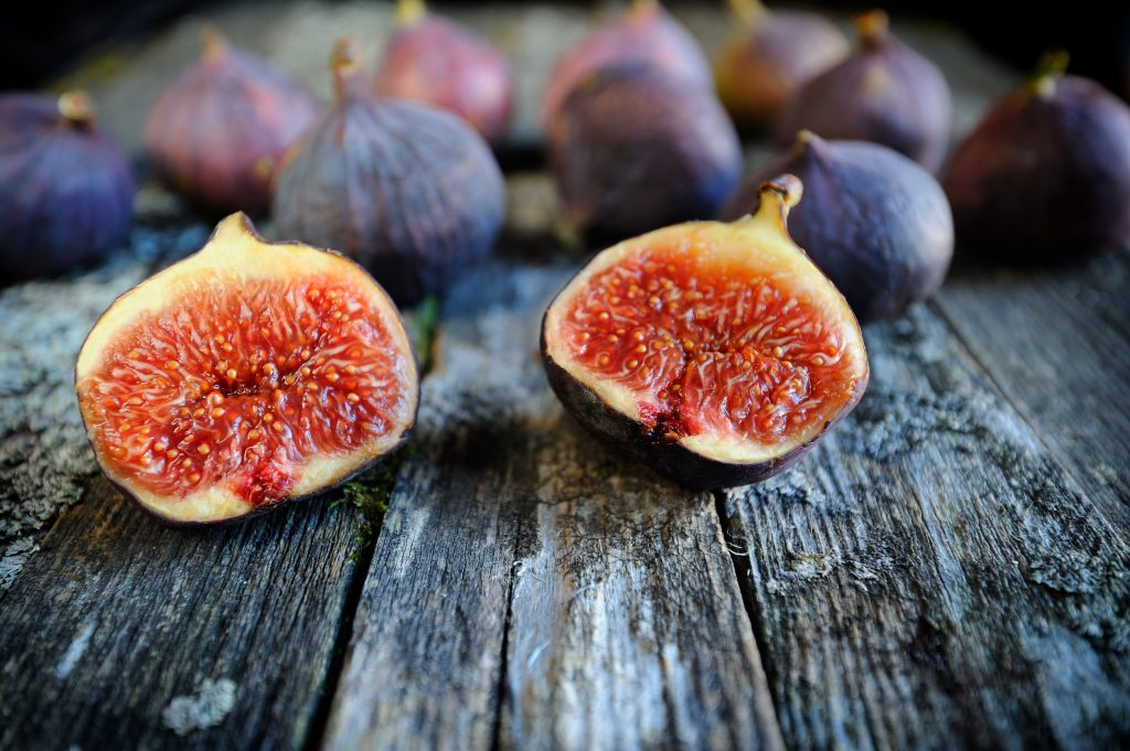 46083083 - fresh figs fruits close-up