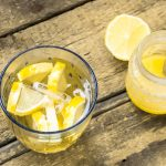 Honey Lemon Detox Water
