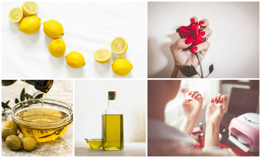 For Nails Lemon and Olive Oil
