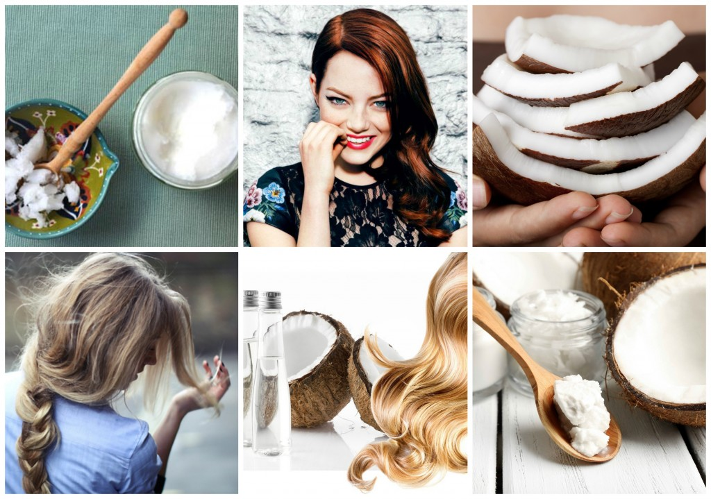 Hair conditioner Collage
