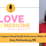 Love Is Medicine Podcast 074: How To Support Good Health & Harmony Within A Family w/ Amy Rothenberg