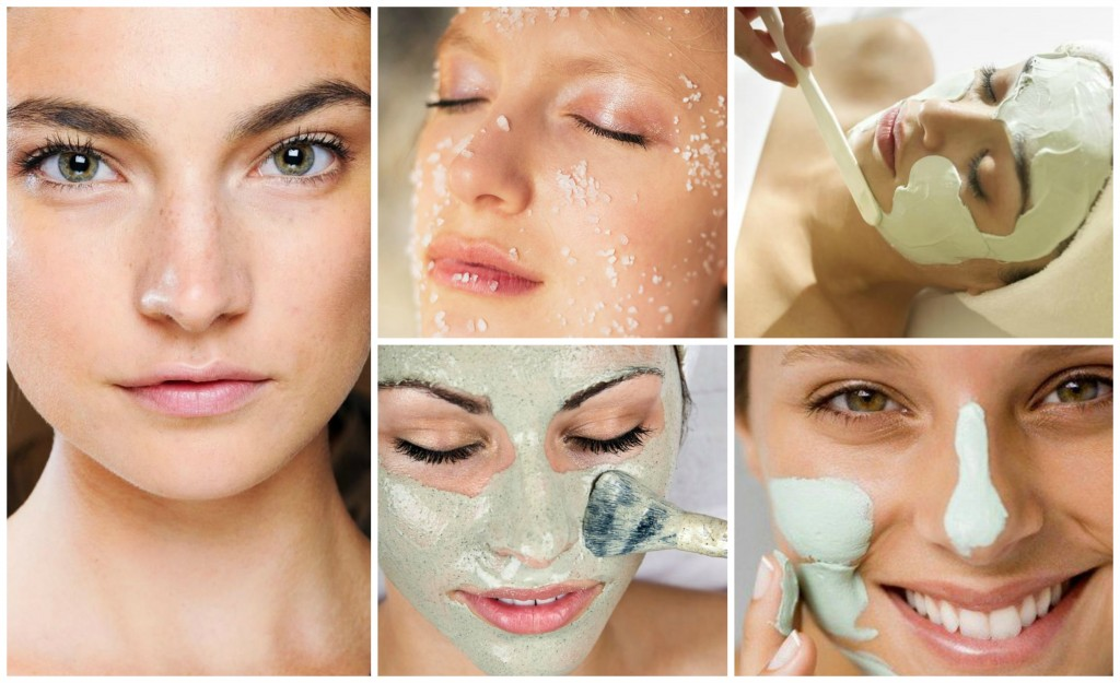 Organic Face Masks Collage