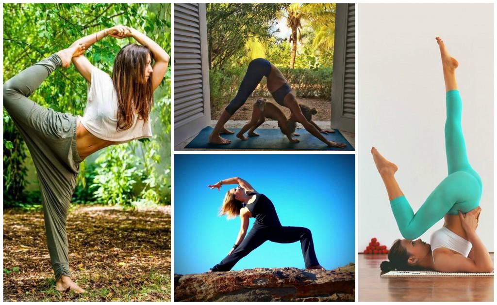 Yoga Benefits Collage