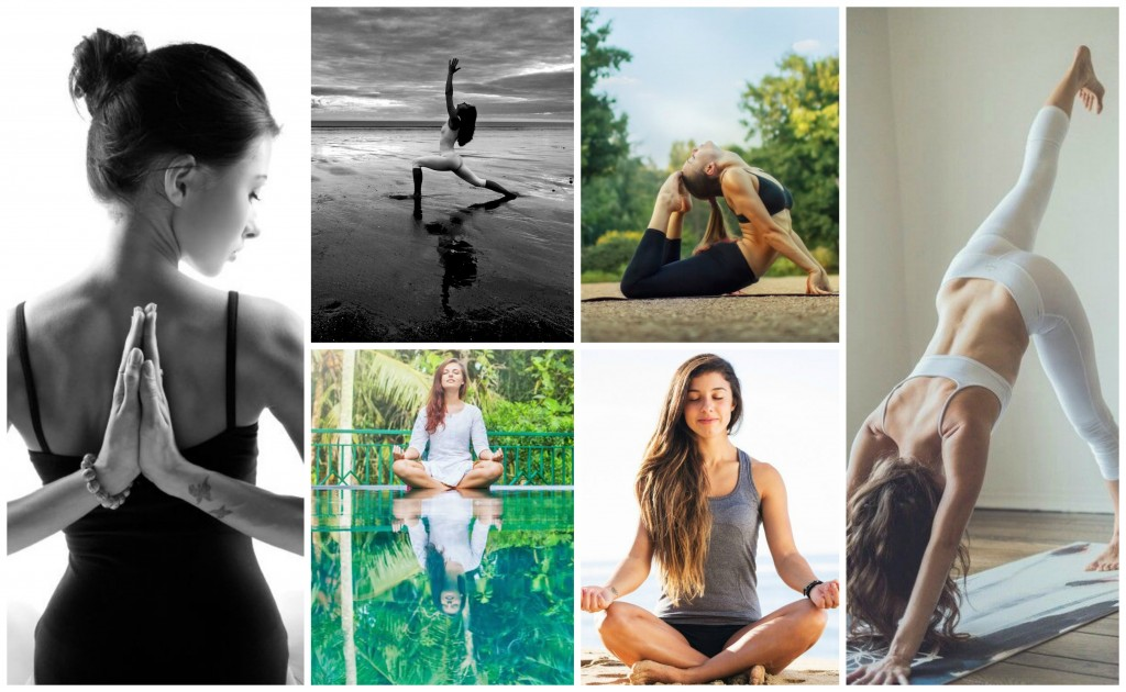 Yoga in Healing and Rehabilitation Collage