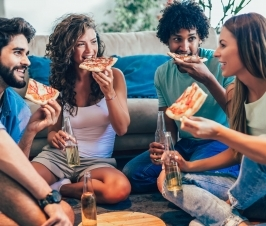 We Tend to 'Copy' Our Friends' Eating Habits