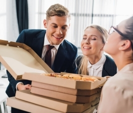Co-workers Impact Your Food Choices