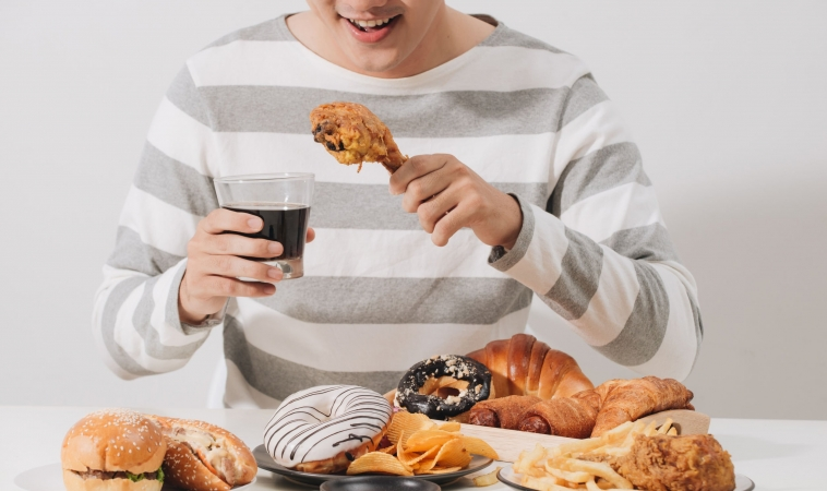 Body Adaptations from Short-term Overeating