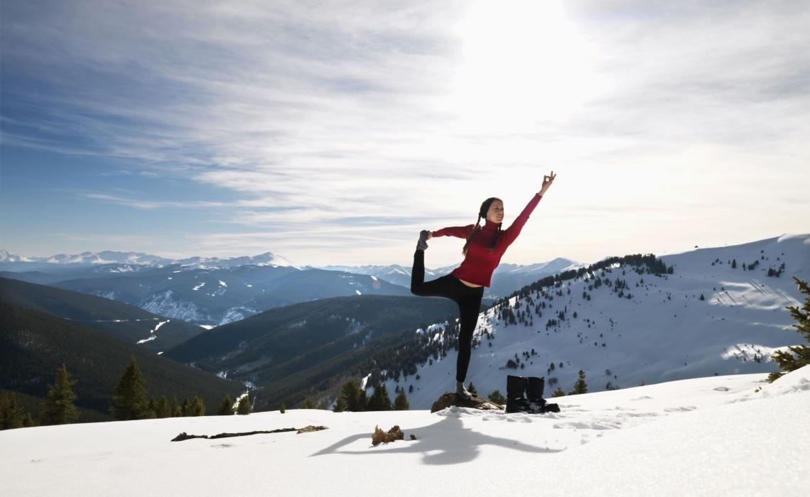 A Sunny Yoga Practice For Winter Days