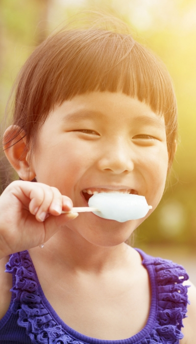 Tea + Popsicle Recipes to Treat Fevers in Children