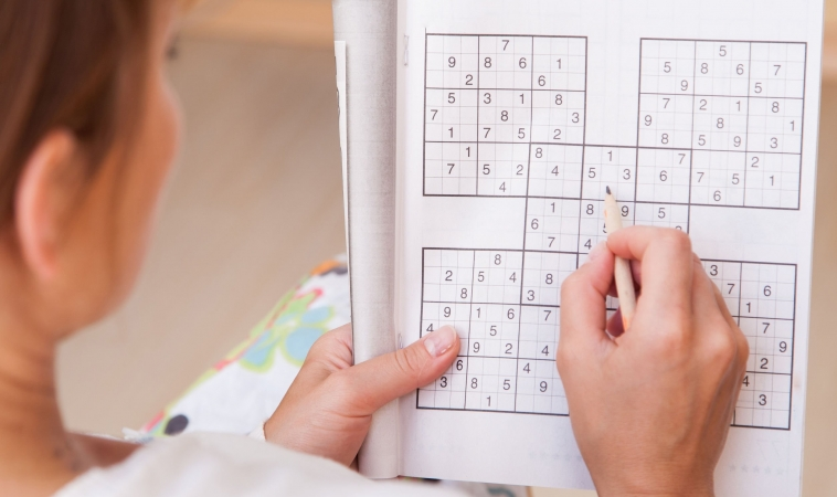 Adults Doing Puzzles Have Sharper Brains into Old Age