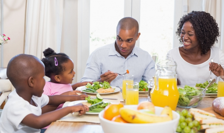 Eating Together Leads to Healthier Eating Habits