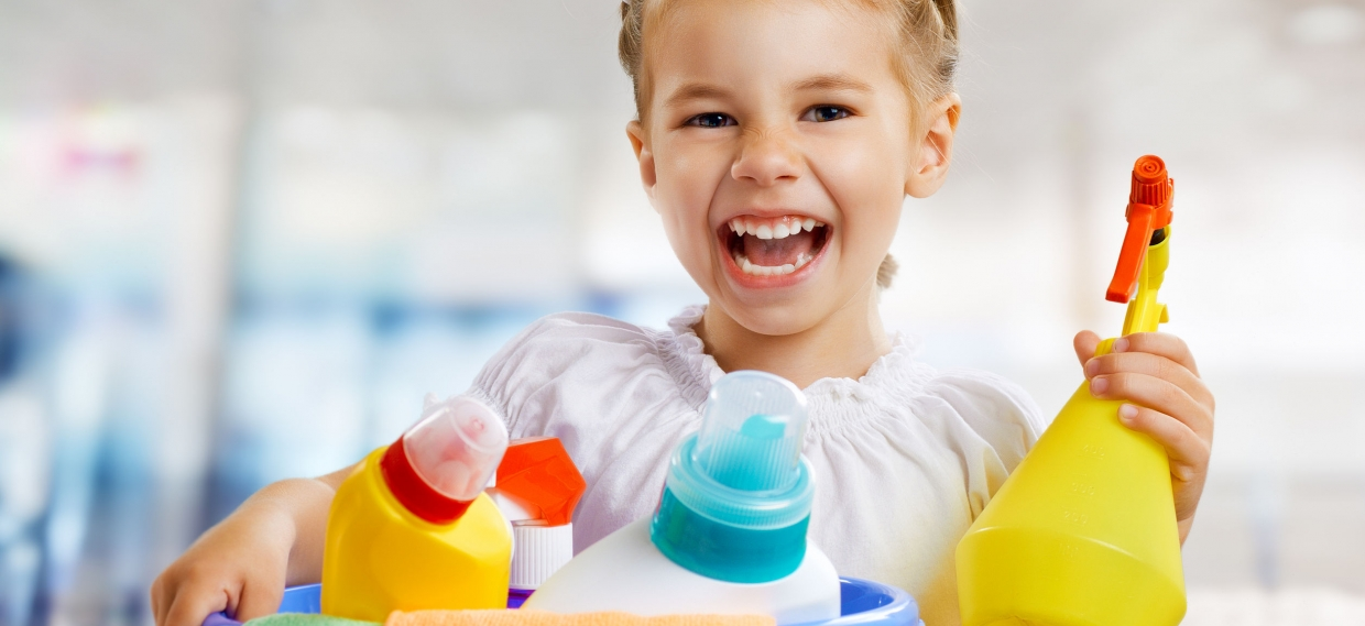 Common Household Cleaners Could be Altering Children's Microbiome