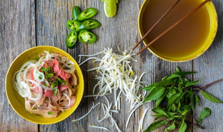 Grain Free Veggie + Beef Pho = Nourishing Meal for Cold and Flu Season