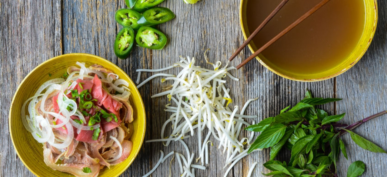Grain Free Veggie + Beef Pho = Nourishing Meal for Cold and Flu Season