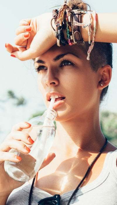 Simply Drinking Water Prevents UTIs