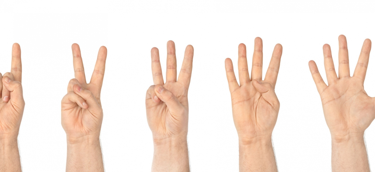 Bad at Math – Try Using Your Hands