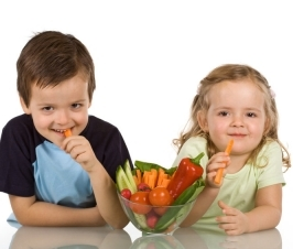 Better Mental Health in Children: Make Sure They Eat Their Veggies