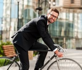 Cycling to Work Can Improve Performance