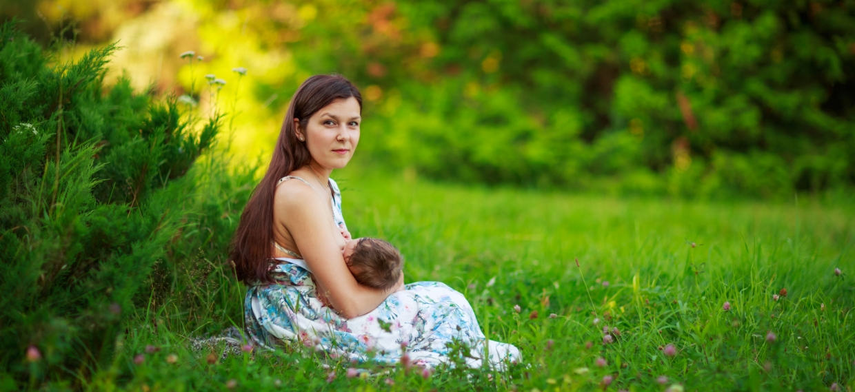 Nutrition and Breastfeeding: Does your diet affect the milk you make?