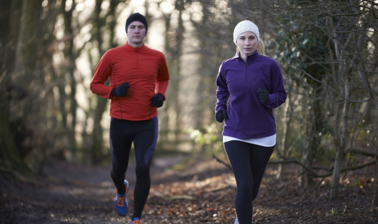 7 Reasons to Exercise Outdoors All Year Long