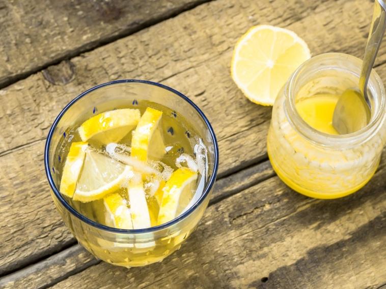 Honey Lemon Detox Water