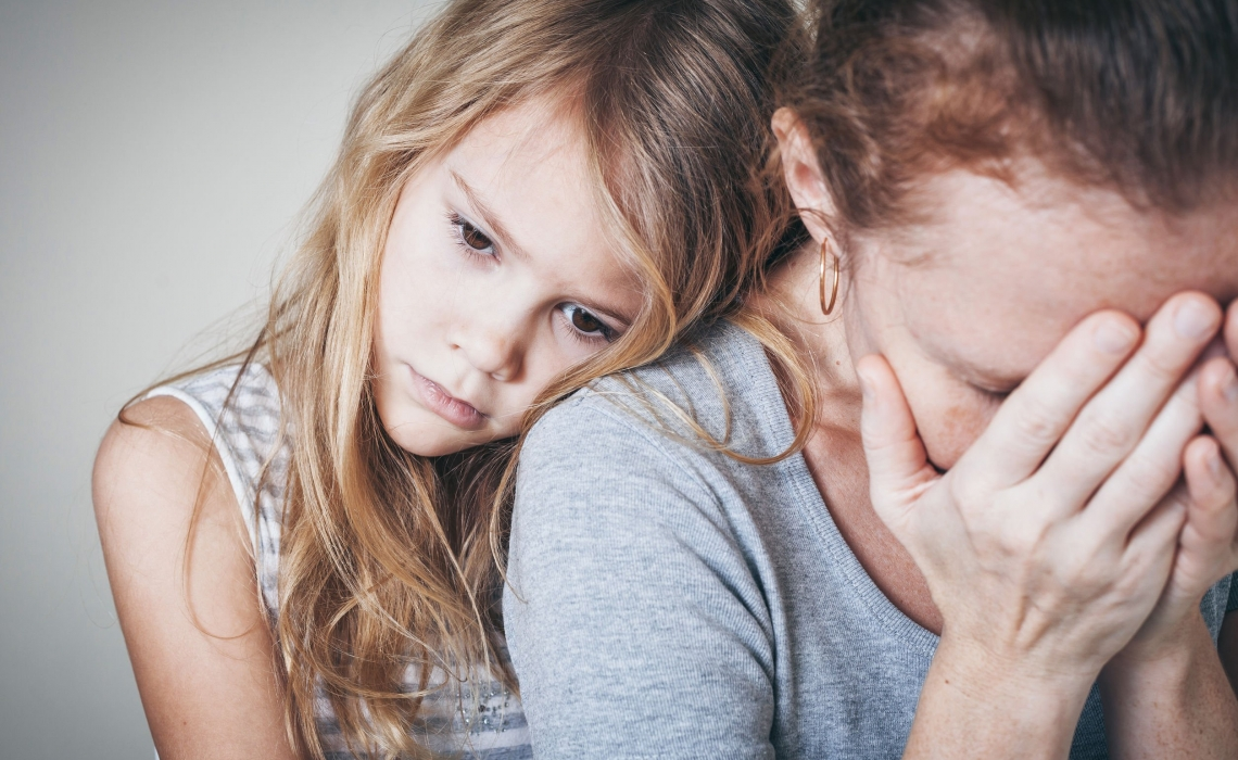 Depression in Parents May Cause Health Problems for Children