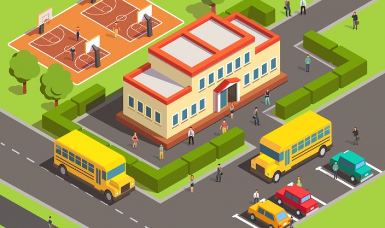Hospitals and Schools in Communities Link to Resilience