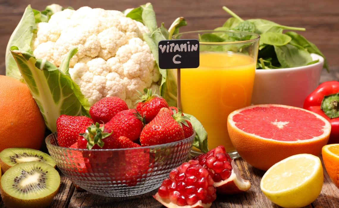 Vitamin C (from fruits and vegetables) Important in Metabolic Syndrome