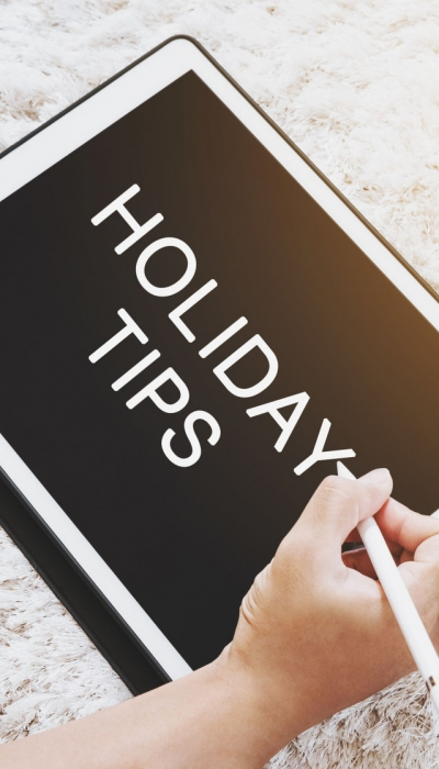 7 tips to be naturally healthy and happy during the holidays
