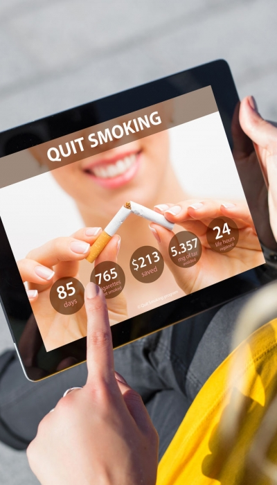 Using Smartphone Technology to Help Address Smoking Relapse Urges