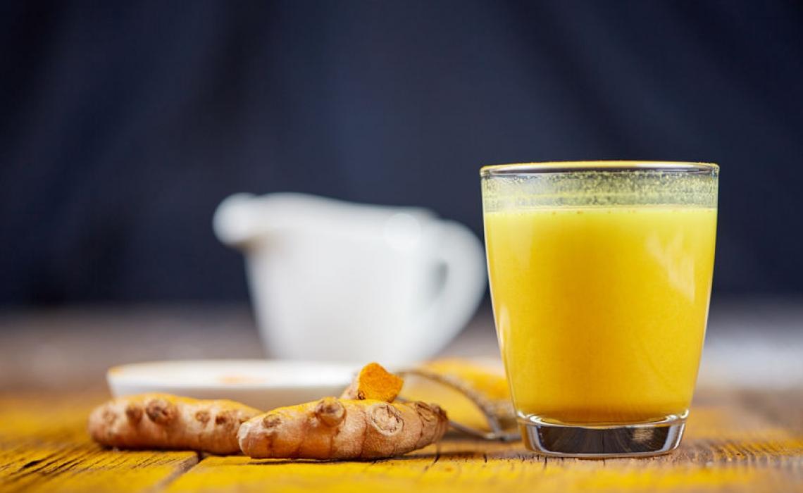 Turmeric Tea for Colds and Flu