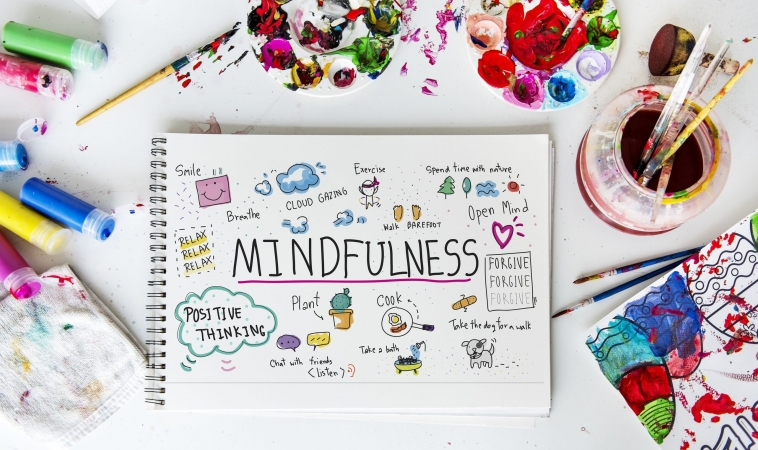 Art-Based Mindfulness Helps Reduce Headaches in Teen Girls