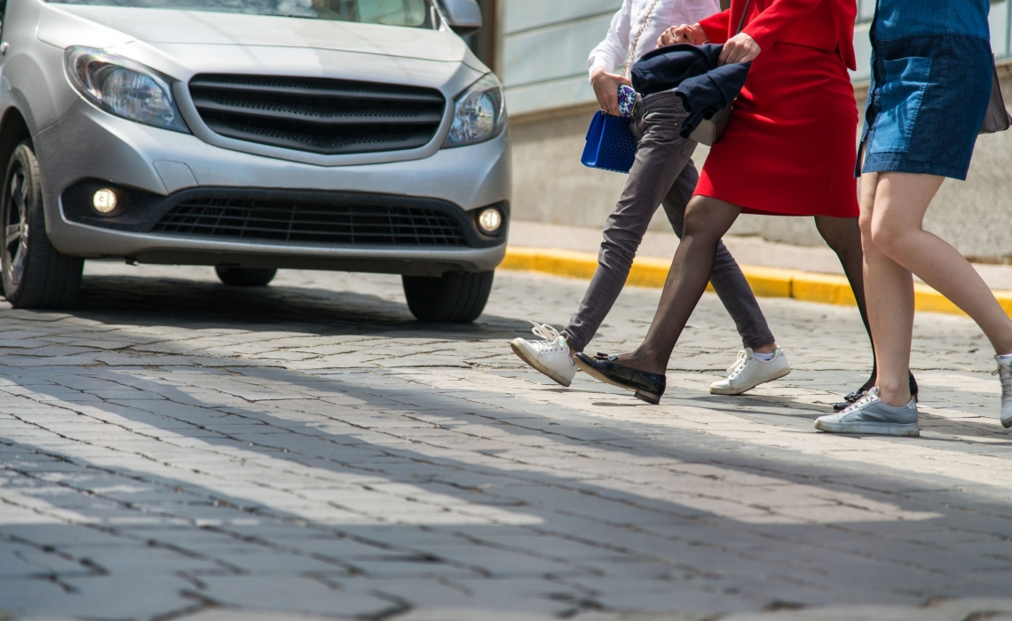 Are Drivers of Expensive Cars Less Likely to Stop for Crossing Pedestrians?