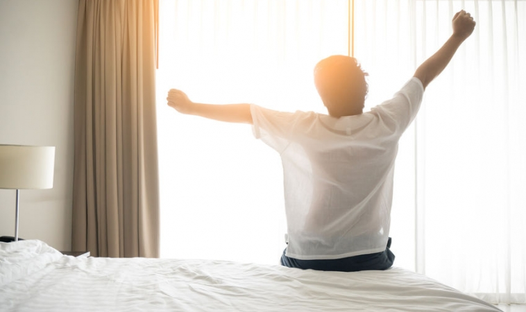 Waking Earlier May Help Depression