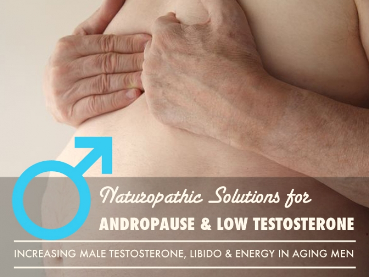 Natural Solutions for Increasing Male Testosterone, Libido and Energy