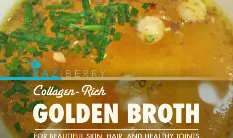 Collagen-Rich Golden Broth for Beautiful Skin