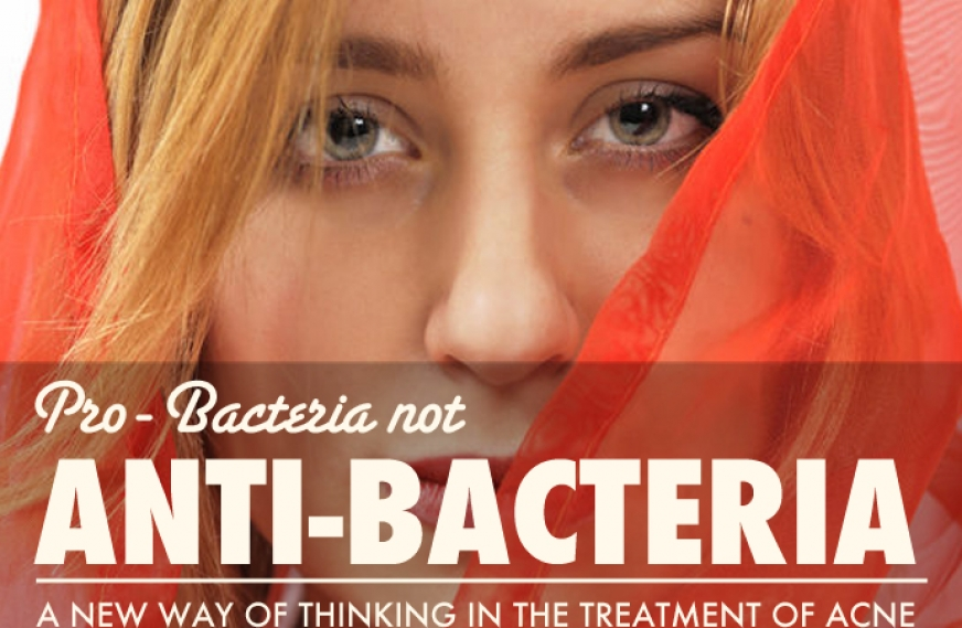Pro-bacteria, not Anti-bacteria; a New Way of Thinking in the Treatment of Acne
