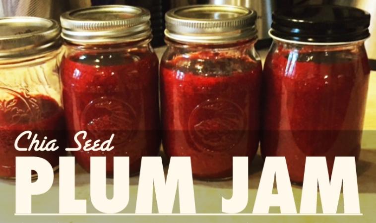 Chia Seed Plum Jam