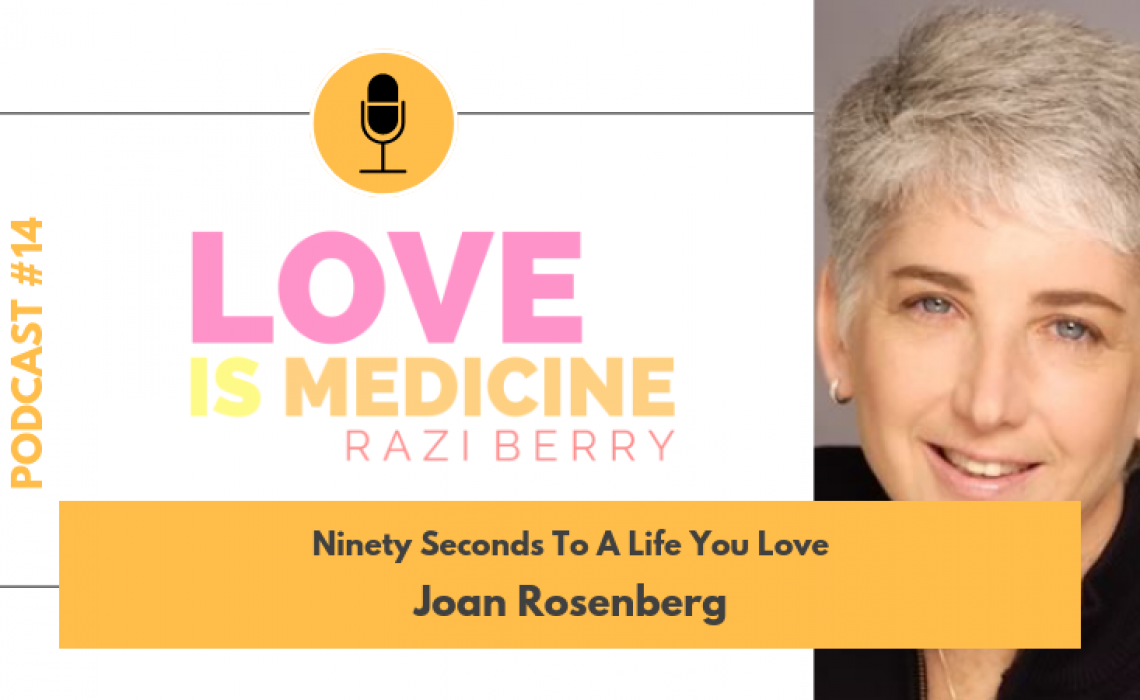 014: Ninety Seconds To A Life You Love w/ Dr. Joan Rosenberg