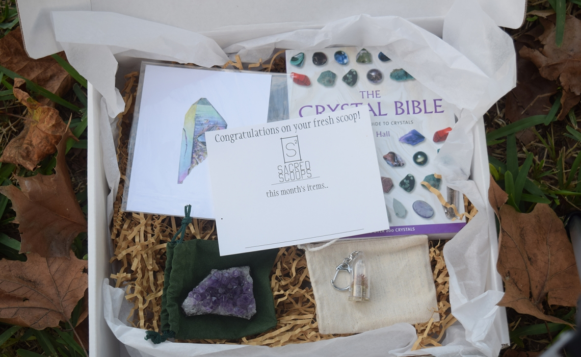 Sacred Scoops Subscription Box Review