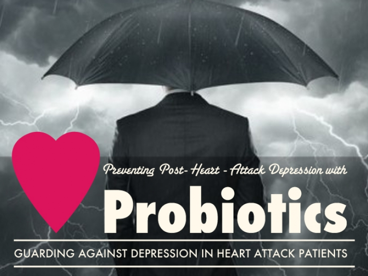 Preventing Post Heart Attack Depression with Probiotics