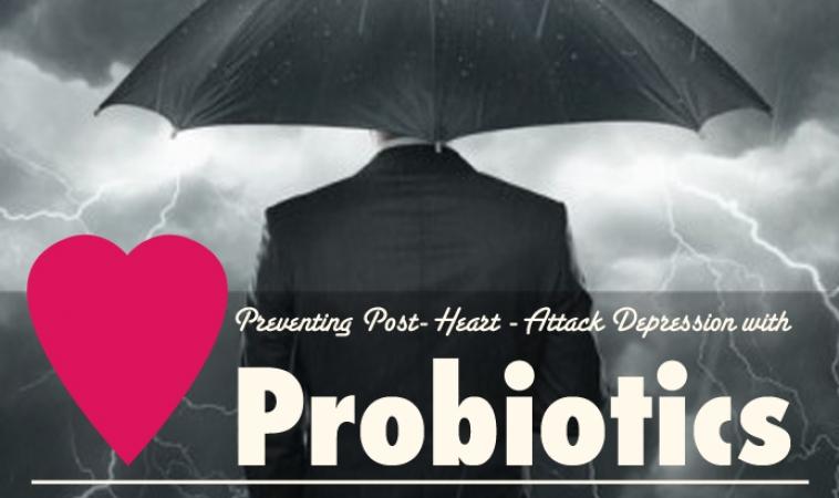 Preventing Post Heart Attack Depression with Probiotics