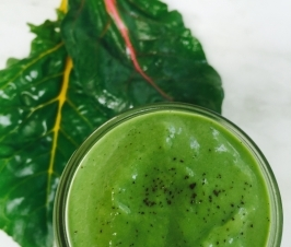 Green Vanilla Bean Smoothie