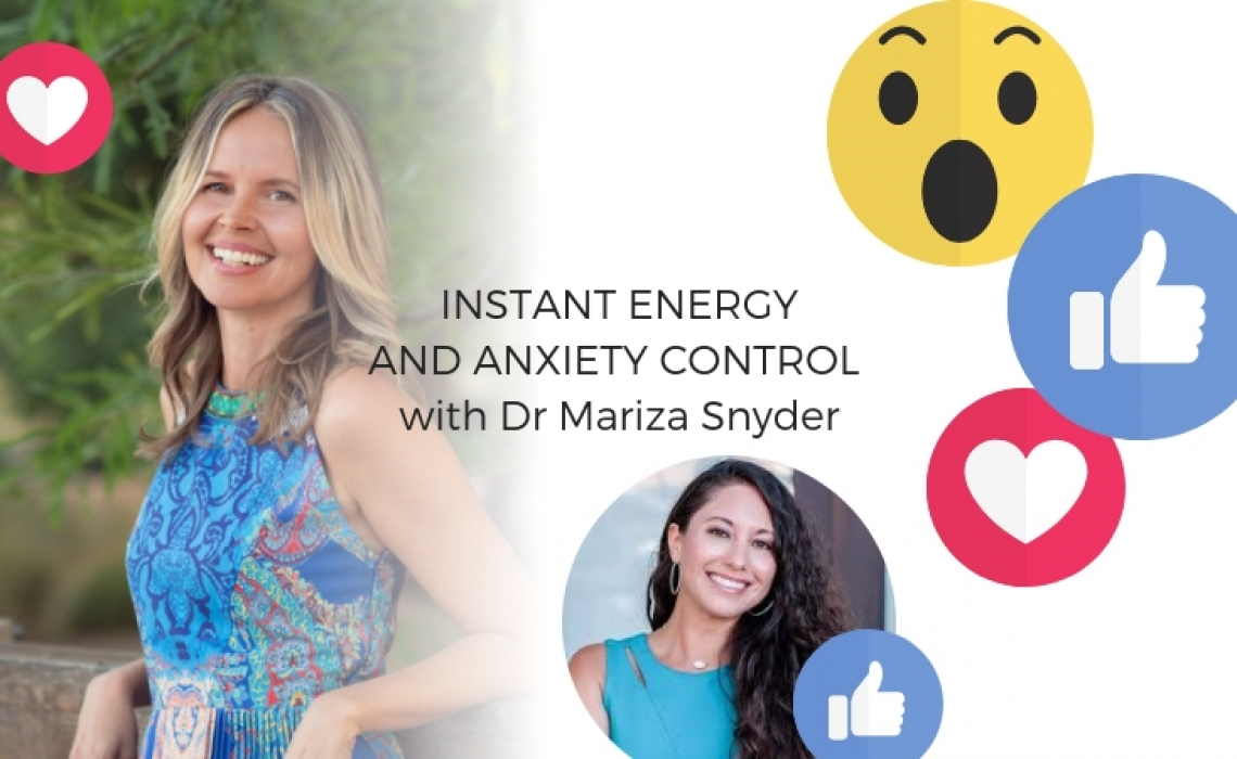 Instant energy and anxiety control