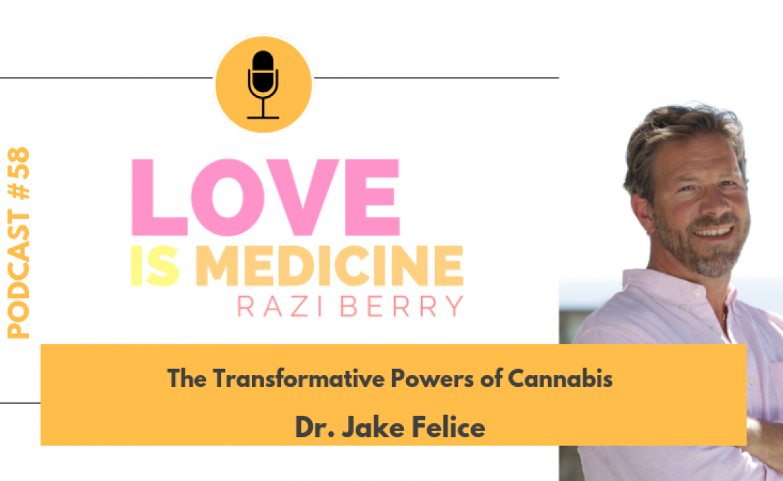 058: The Transformative Powers Of Cannabis w/ Dr. Jake Felice