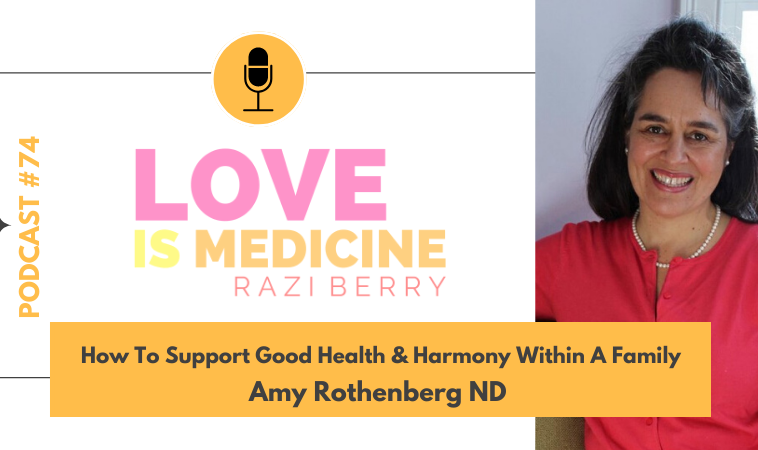 074: How To Support Good Health & Harmony Within A Family w/ Amy Rothenberg ND