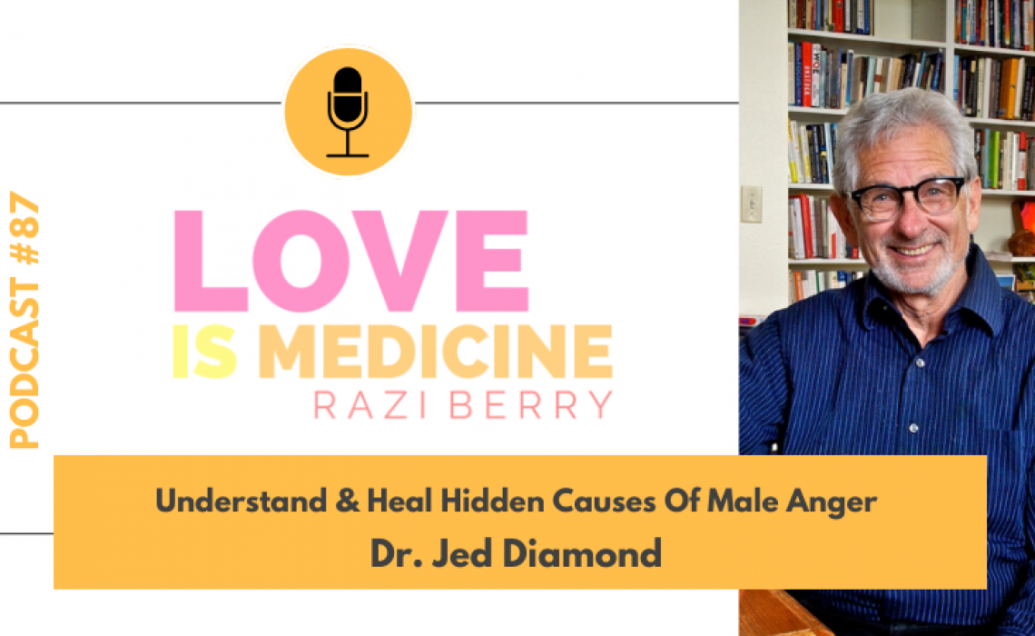087: Understand & Heal Hidden Causes Of Male Anger w/ Dr. Jed Diamond