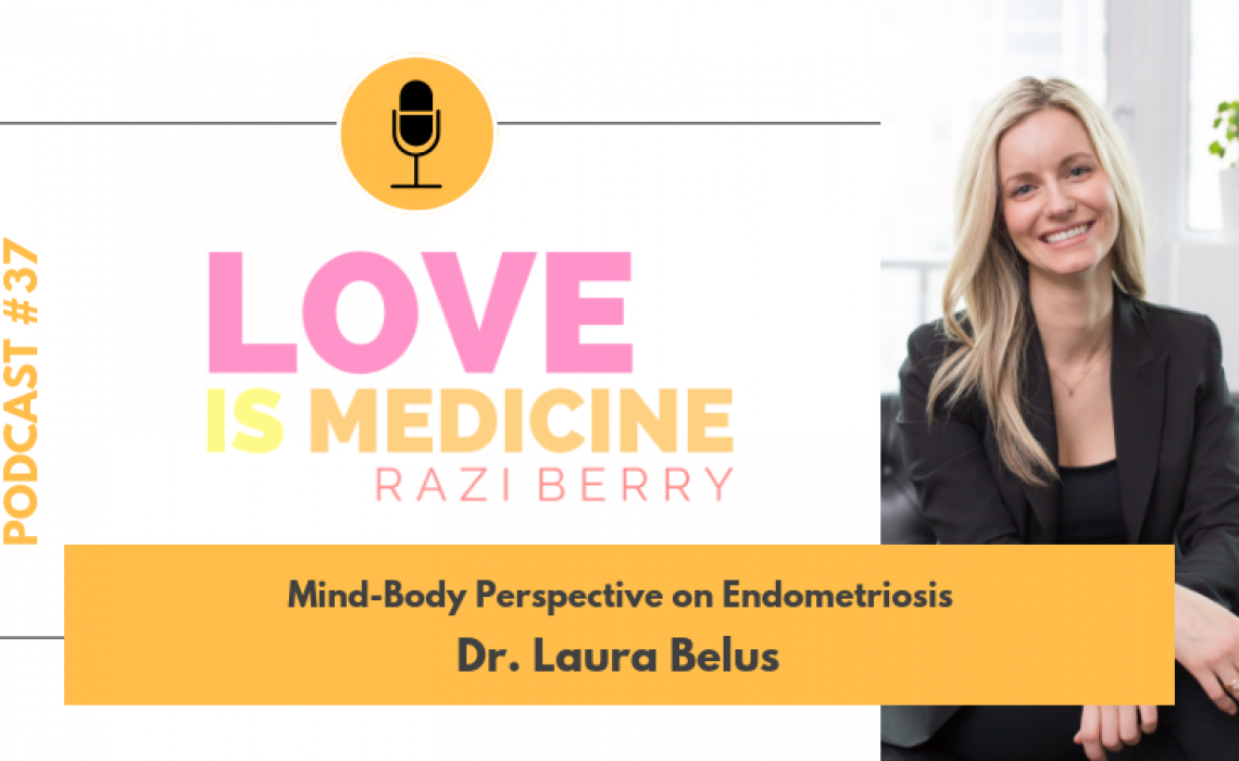 037: Mind-Body Perspective on Endometriosis w/ Dr. Laura Belus