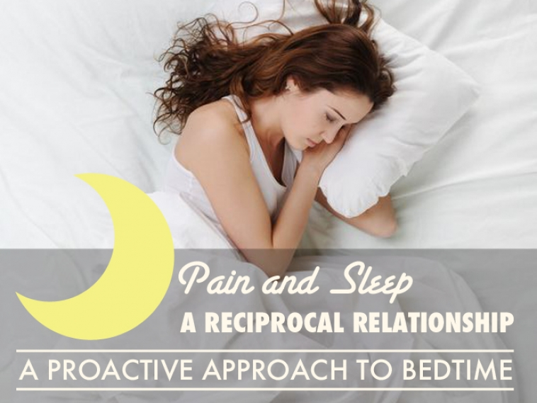 Pain and Sleep, A Reciprocal Relationship