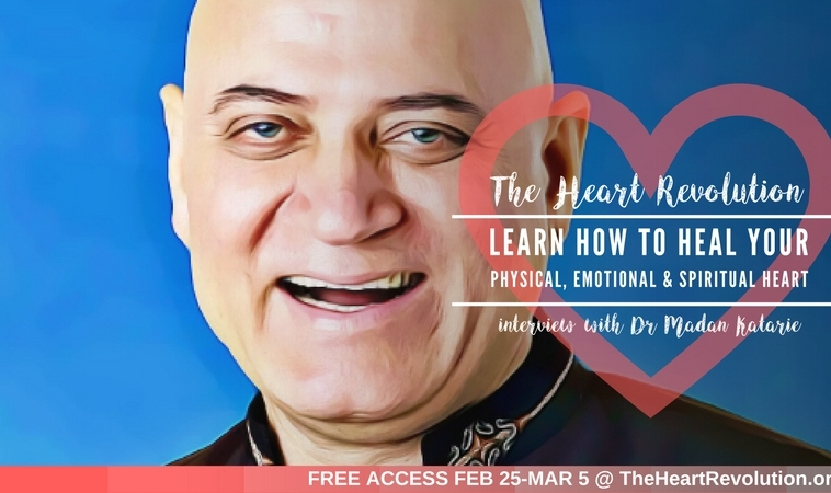 Madan Kataria, MD, The 'Guru of Giggling' will explore the powerful benefits of laughter yoga for our heart and soul